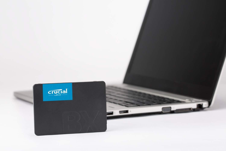 Crucial BX500 480GB 3D NAND SATA 2.5-Inch Internal SSD - CT480BX500SSD1Z by Crucial