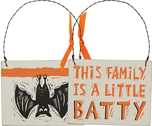 Ornament - A Little Batty, Set of 3 (Little Brother Ornament)
