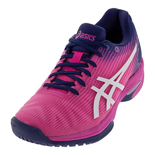 Speed Pink Womens Shoe ASICS Glo White Solution FF Tennis qBvvEYF