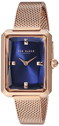 Ted Baker Women's 'CARA' Quartz Stainless Steel Casual Watch, Color:Rose Gold-Toned (Model: TE50270008)