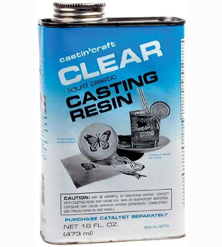 Environmental Tech Castin' Craft Clear Casting Resin 16 oz. can (Castin Craft Clear Casting Resin With Catalyst)
