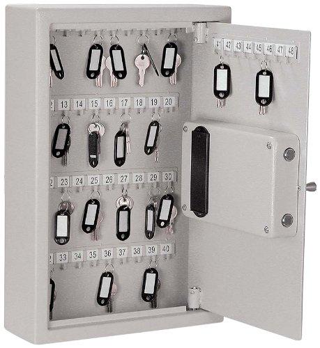 Products Key Cabinet Buddy - Buddy Products Key Safe, 4 x 17.75 x 11.75, Platinum (3221-32)