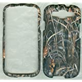 Camo Grass Tree Hunting Faceplate Phone Cover Case Samsung Galaxy S3 S III SGH-I747 (AT&T), SCH-I535 (Verizon), SGH-T999 (T-Mobile), SPH-L710 (Sprint)