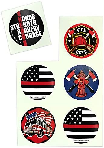 Free firefighter stickers