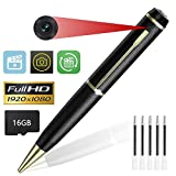 KIMUVIN Spy Pen Camera,16GB 1080P Full HD Mini Hidden Camera Pen with Video and Photo Recorder Dvr - 2018 Newest Version