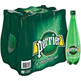 Perrier Carbonated Mineral Water, 33.8 fl oz. Plastic Bottles (12 Count)