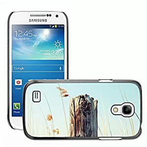 Super Stellar Slim PC Hard Case Cover Skin Armor Shell Protection // M00051396 wooden post old macro aero // Samsung Galaxy S4 Mini i9190
