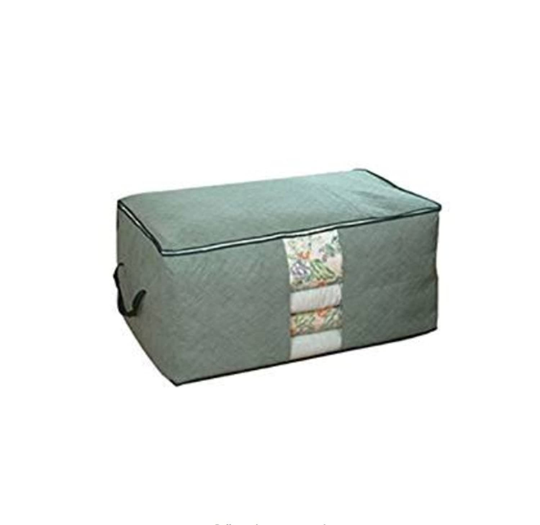 Storage Box Missyy Bamboo charcoal clothing storage bag Quilt storage case Bedding organizer