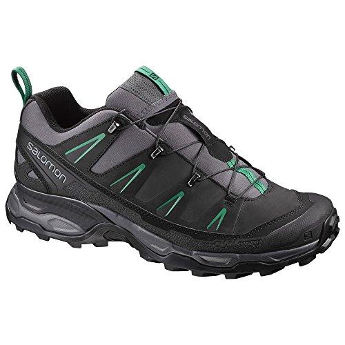 Salomon Men's Ultra LTR Low Rise Hiking Shoes, Green Various Colours (Magnet / Black / Pine Green)