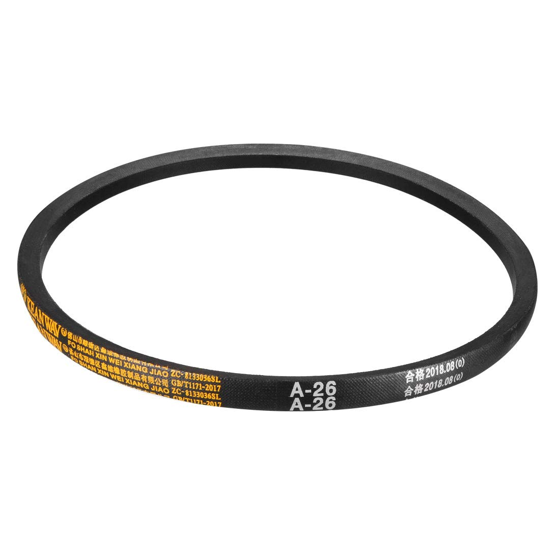 sourcing map A-25 Drive V-Belt Girth 25-inch Industrial Power Rubber Transmission Belt