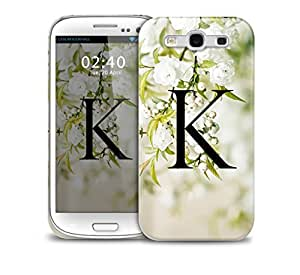 letter k Samsung Galaxy S3 GS3 protective phone case
