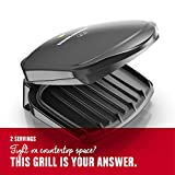 George Foreman 2-Serving Classic Plate Electric