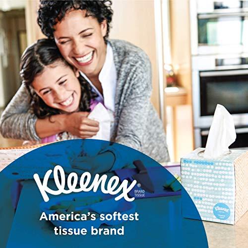 عروض Kleenex Lotion Facial Tissue, 120 Count, (3 Pack)