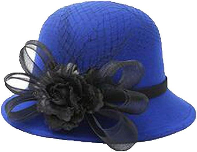 Gorros Dama Retro Cálido Y Elegante Sombrero De Boda Modernas ...