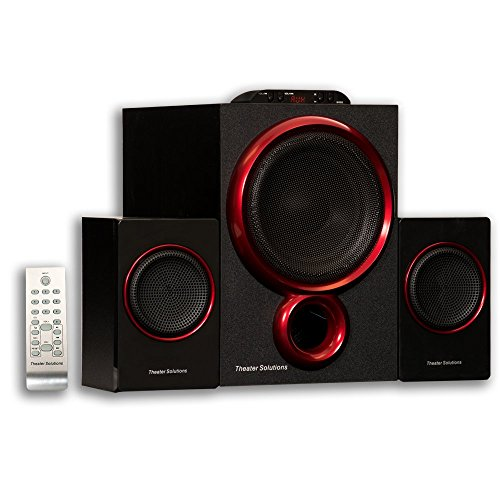 Theater Solutions by Goldwood 2.1 Speaker System 2.1-Channel - Surround Sound System Rca