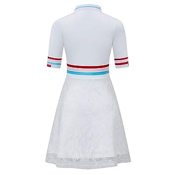 WENRIT Wen® Falda con Falda Corta de Golf para Mujer de con ...