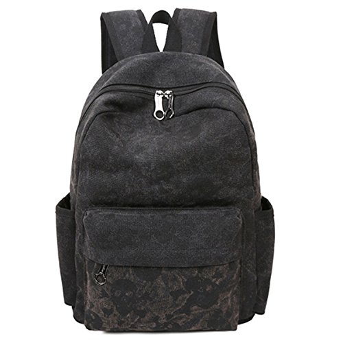 [Hanshu Outdoor Skull Book Bags Skeleton Computer Backpack Lightweight Rucksacks] (Mossimo Black Belt)