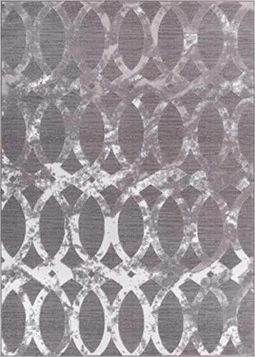 Well Woven Delilah Grey Moroccan Lattice Modern Casual Traditional Trellis 20x31 Slice (20