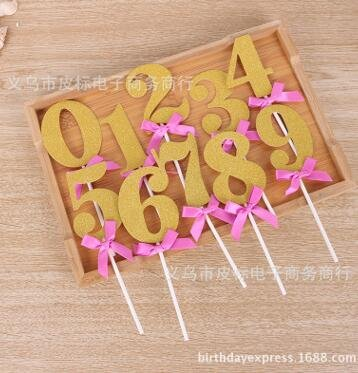 gold cake numbers - 5
