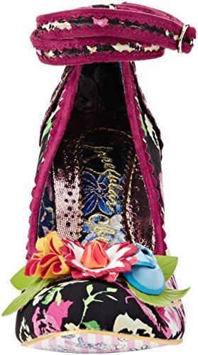 Irregular Choice Day Dreamer - Tacones Mujer Negro (Black Floral)