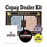 Copag Dealer Kit - Poker Size, Jumbo Index - Red & Blue