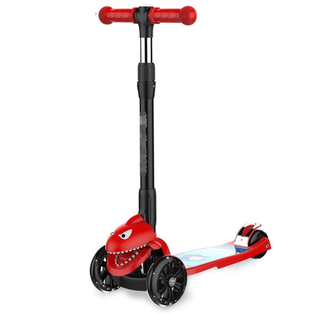 日本未入荷 学生スクーター折り畳み式ライドブロック自転車リフトスイングカーフラッシュホイール5-15歳 B07FYNGK53 B07FYNGK53 Red Red, ウェルキューブ:a396a8bf --- a0267596.xsph.ru