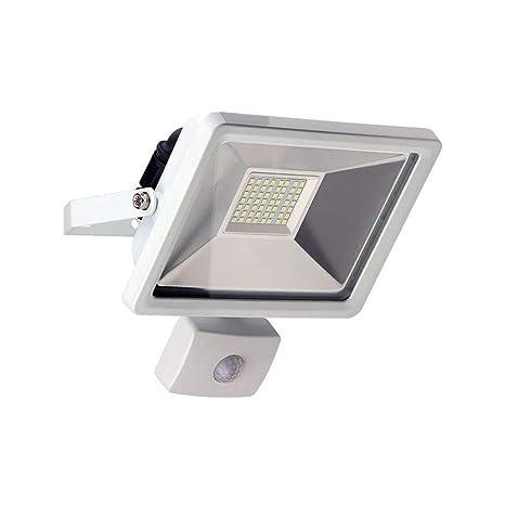 Goobay 59084 Reflector LED con Detector de Movimiento, 30 W, Blanco, 7.7x19