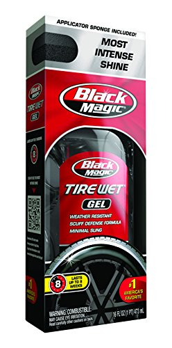 Black Magic 5072647 Tire Wet Gel, 16 oz.