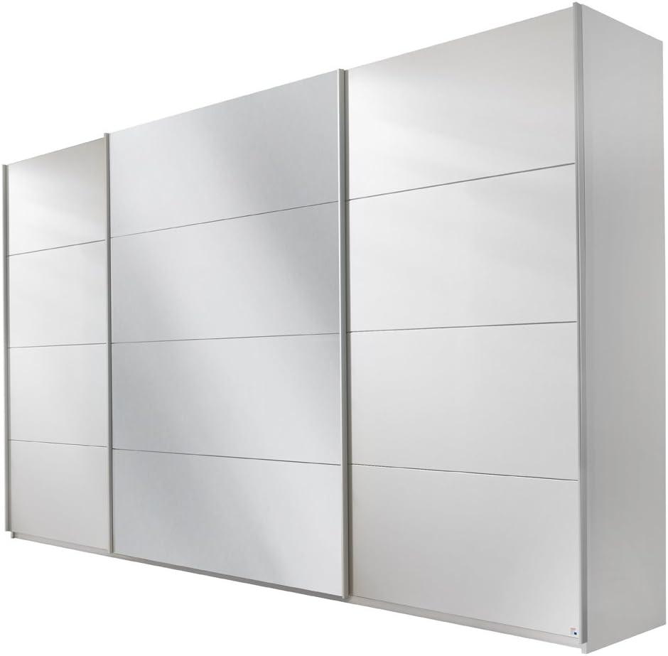 Rauch - Armario con Puertas correderas (3 Puertas, 315 x 210 x 62 cm), Color Blanco: Amazon.es: Juguetes y juegos