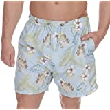Cargo Bay Mens Flower Print Microfibre Swimming Shorts