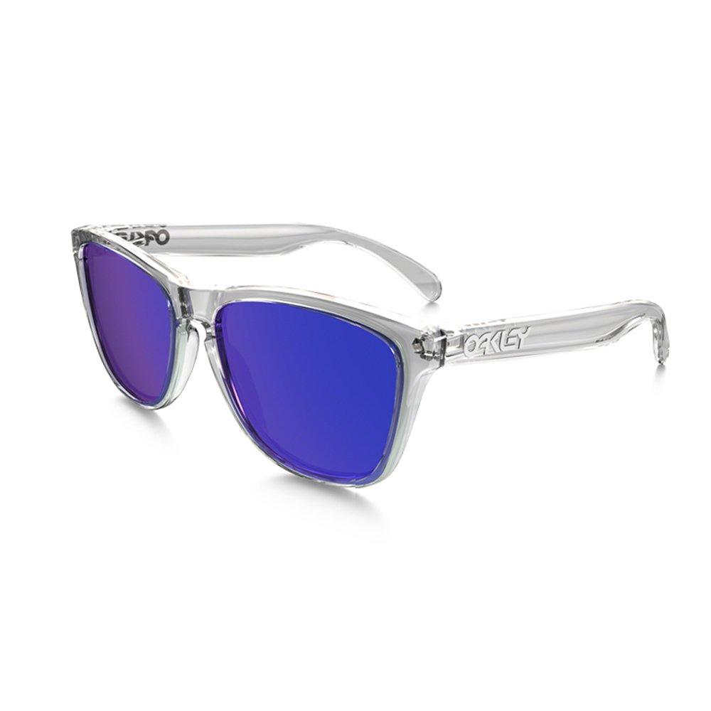 Ray-Ban Frogskins Gafas de sol, Rectangulares, 55, Transparente