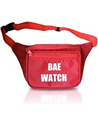 Fun Fanny Packs for Women and Men (Multiple Styles, 3 Zipper) Fanny Pack Bum Bag (Neon, Party, Squad, Pink, Green, Shiny, Holographic)