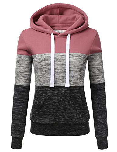 [해외]NINEXIS Womens 긴 소매 양털 풀오버 후드 티 스웨터/NINEXIS Womens Long Sleeve Fleece Pullover Hoodie Sweatshirts