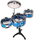 PoshTots Kids High quality Imported Jazz learner Musical Drum Set with Stand - Gift toy for kids
