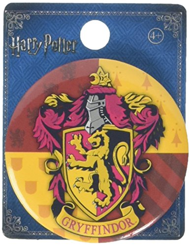HARRY POTTER - Gryffindor Button Pin Novelty Accessory