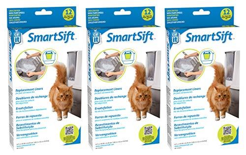 (3 Pack) Catit Design Liner for Sifting Cat Pan
