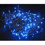 Luces exterior multifunción 160 LED azules - Navidad