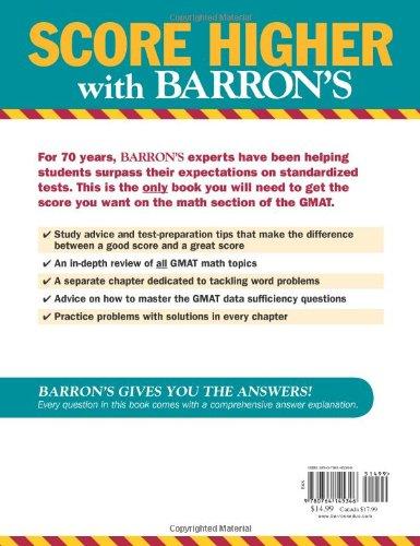 Buy gmat math book