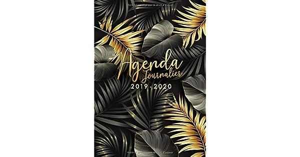 Amazon.com: Agenda 2019/2020: 18 mois journalier 2019-20 ...
