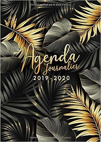 Agenda 2019/2020: 18 mois journalier 2019-20 - format A5 ...