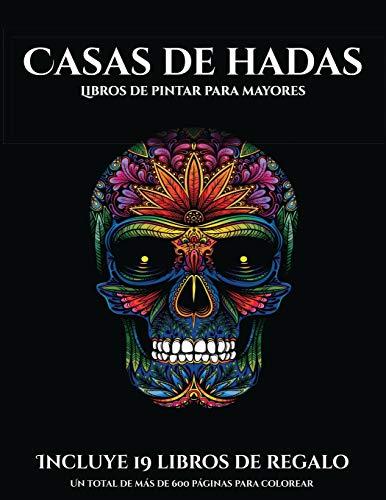 Libro : Libros de pintar para mayores (Casas de hadas) Este.