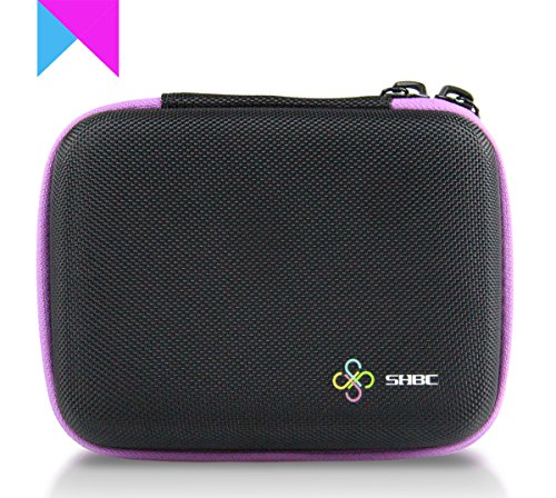Evening Gardenia Massage Oils (SHBC Essential Oil Carrying Case-Hard Shell Case Waterproof Durable Zipper- Holds 10 Roller Bottles Suitable for 5ml, 10ml and 15ml-Perfect for Young Living doterra Storage Case Purse Travel Bag)