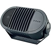 Bogen A6T Indoor/Outdoor Speaker - 2-way - Black A6TBLK
