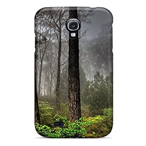 Jeffrehing Case Cover Protector Specially Made For Galaxy S4 Dark Forest View
