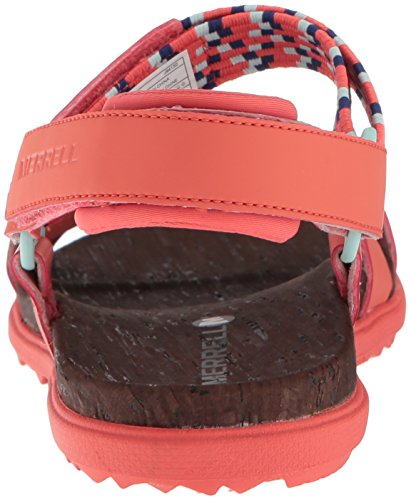 Merrell Women Around Town Open Toe Sandals Red (Hot Coral) with mastercard online for sale top quality PLXExK