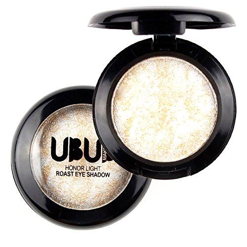 Shouhengda Single Baked Eye Shadow Powder Palette Shimmer Metallic Eyeshadow Palette Makeup A07