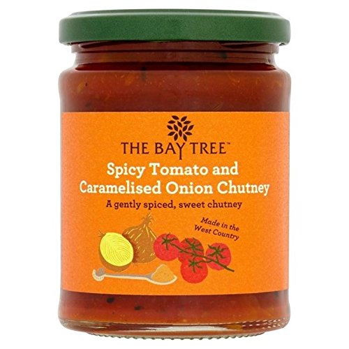 The Bay Tree Spicy Tomato & Caramelised Onion Chutney 285g - Pack of 2