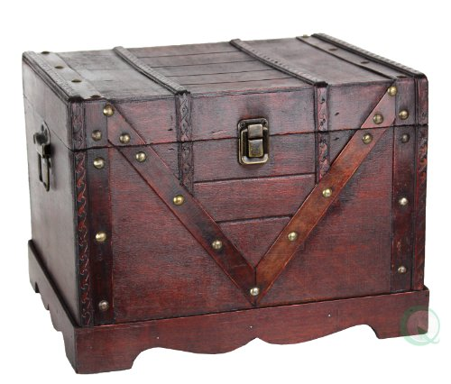 Wooden-Treasure-Box-Old-Style-Treasure-Chest