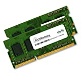 4GB DDR3-1066MHz 204p SODIMM (2 pcs of 2GB) kit RAM Memory interchangeable w/ KTA-MB1066K2/4G Anti-Static Gloves included