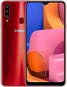 Samsung Galaxy A20s A207M/DS, 32GB/3GB RAM Dual SIM 6.5''HD+ Snapdragon 450, Factory Unlocked (International Version) - (Red)